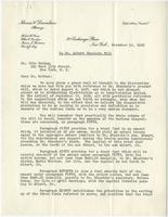 David Levy to Otto Nathan, 10 Nov 1939