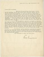 Elsa Einstein to Otto Nathan, 20 Sept 1934